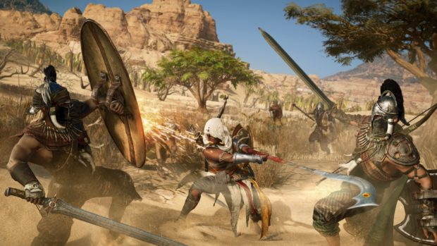 Assassins Creed Origins multiple characters