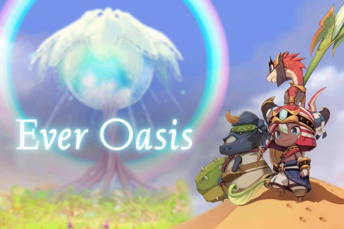 Ever Oasis Crafting