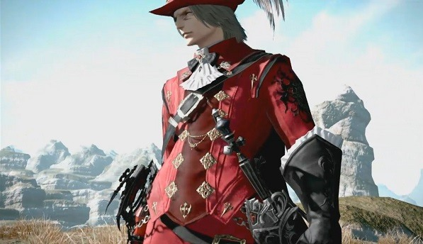 Final Fantasy 14 Stormblood Red Mage