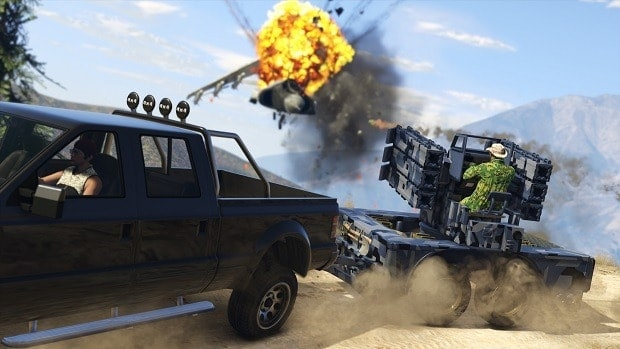 GTA Online Gunrunning Weaponized Vehicles