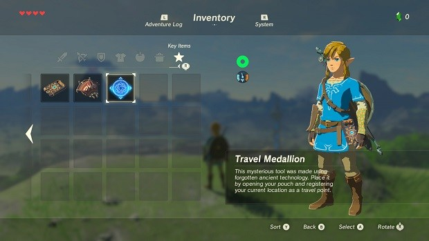 Zelda: Breath of the Wild Travel Medallion Location Guide