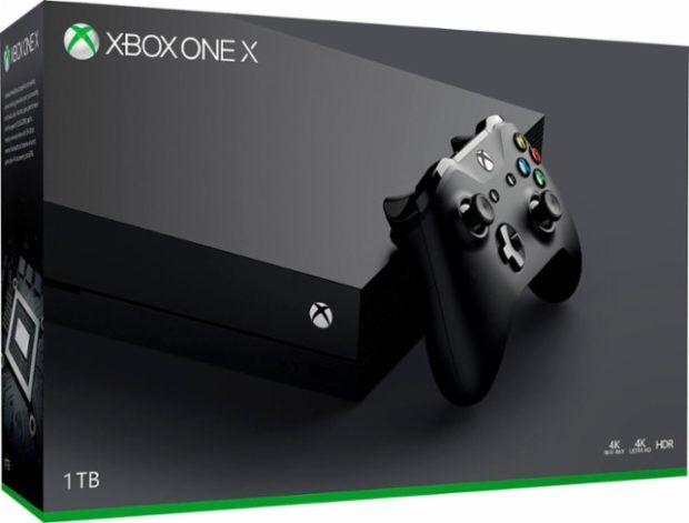 Xbox One X Retail Box