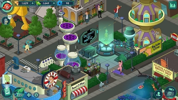 Futurama: Worlds of Tomorrow Tips