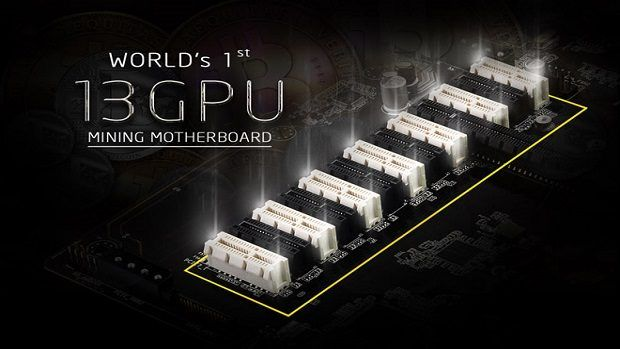 ASRock Cryptocurrency Mining Motherboard