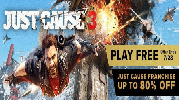 Just Cause 3 trial