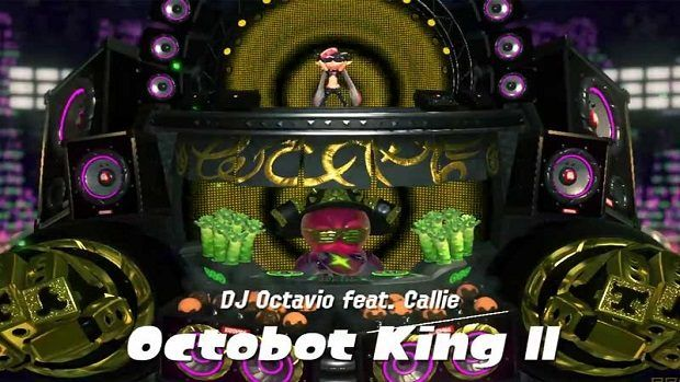 Splatoon 2 Octobot King II