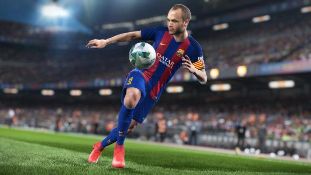 PES 2018 Cover Star