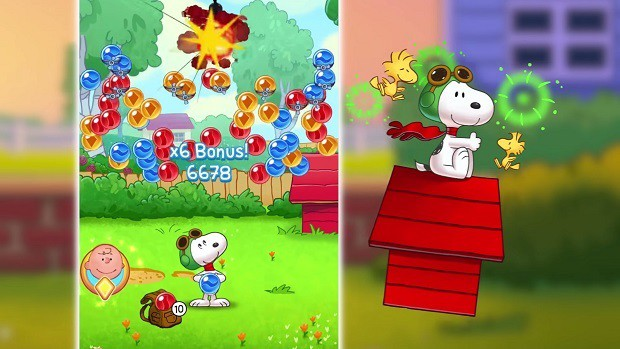Snoopy Pop Tips and Strategies Guide – PowerUps, Starting Scroll, Bubble Popping Tips