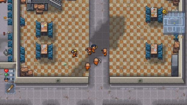 Video Games Releasing in January | The Escapists 2 Rattlesnake Springs Prison