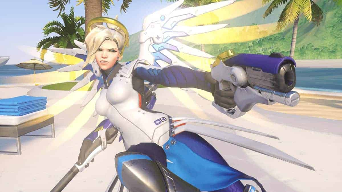 Mercy Gets New Ultimate in Overwatch, Enhances Weapons and Makes Her Fly