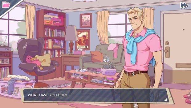 Dream Daddy Joseph's Secret Ending