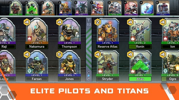 Titanfall Assault Deck Building