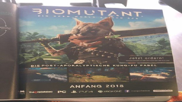 Biomutant is a New THQ Nordic Game, An Open World Action RPG Featuring A Raccoon