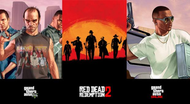 Red Dead Redemption 2 and GTA V