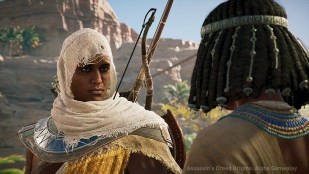 Assassin S Creed Origins Modern Day Protagonist Revealed In Leaked