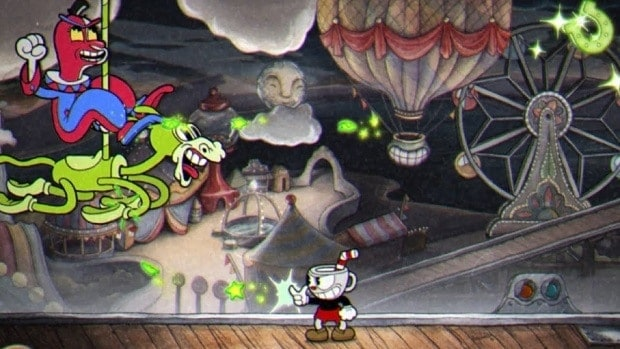 Cuphead Beppi the Clown Boss Guide
