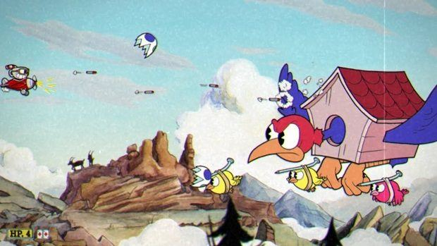 Cuphead Wally Warbles Boss Guide