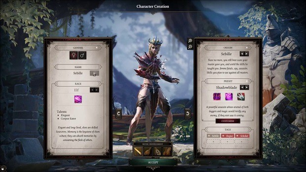 Divinity Original Sin 2 Shadowblade Class Guide – Shadowblade Builds, Best Races, Attributes, Abilities, and Talents