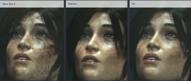 Rise of the Tomb Raider Xbox One X