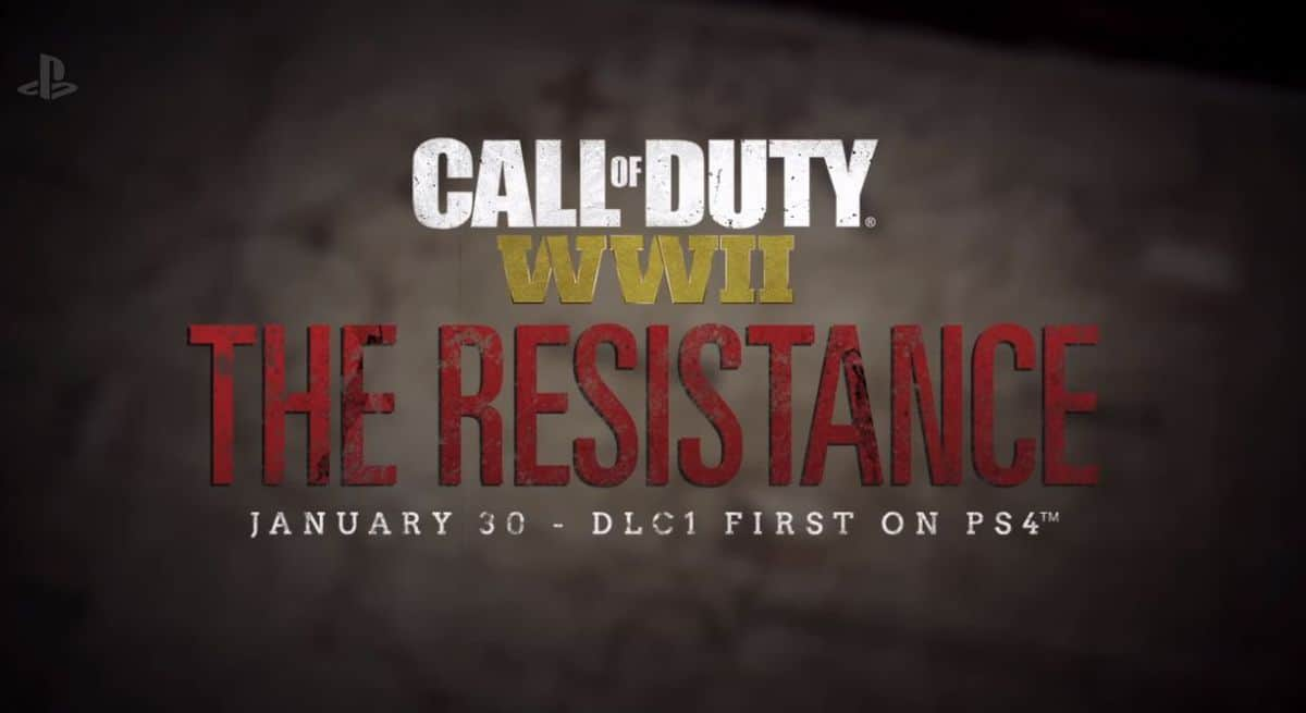 """The Resistance"" DLC Revealed for Call of Duty WWII, Releases First for PS4"
