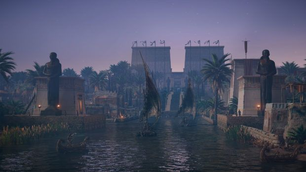 Assassin's Creed Origins Memphis Side Quests Guide
