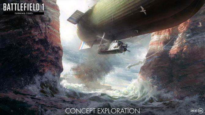 Battlefield 1 Turning Tides Expansion Details Have Been Revealed