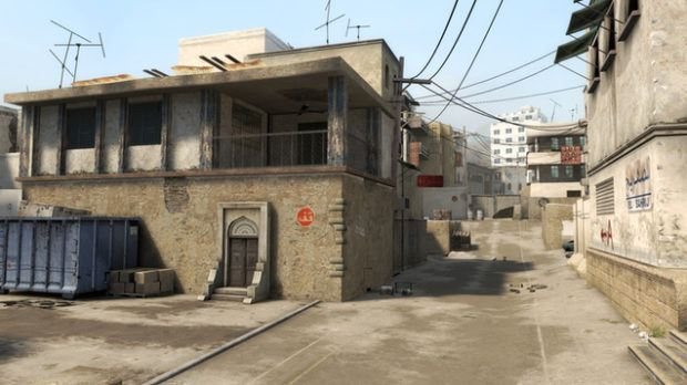 Counter-Strike: Global Offensive Shines Up Dust 2 Map