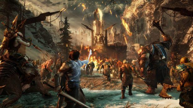Middle-earth: Shadow of War casts over London