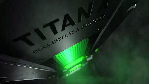 NVIDIA tease new 'TITAN X Collectors Edition' graphics card