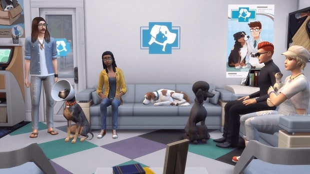 How to Become a Vet in The Sims 4 Cats & Dogs