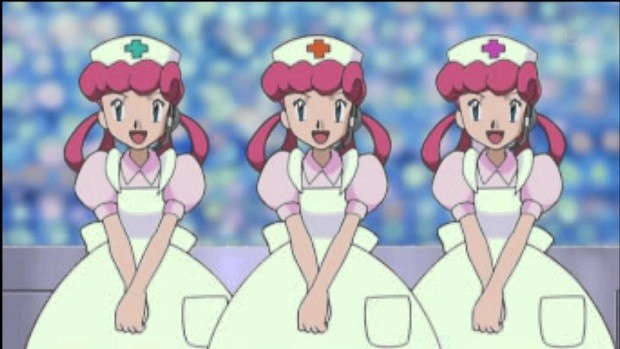 Date Nurse Joy in Pokemon Ultra Sun and Moon
