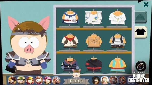 South Park: Phone Destroyer Outfits Unlocks Guide