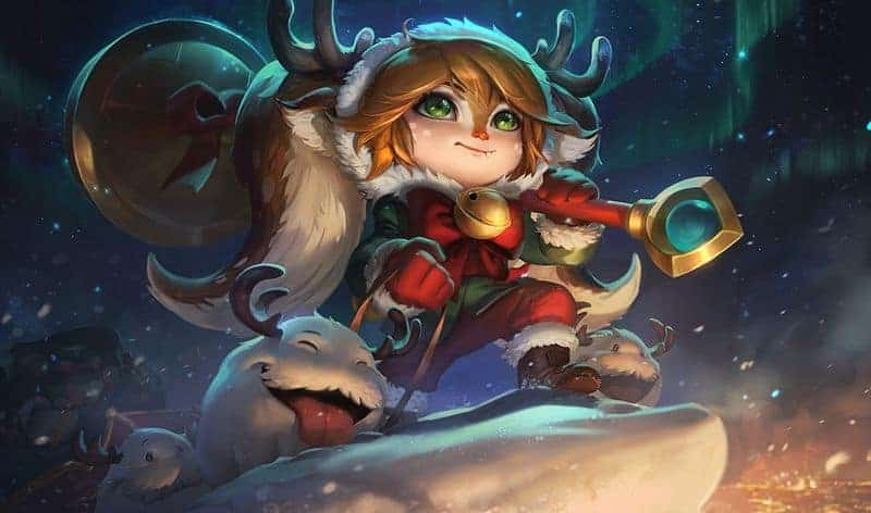 League of Legends Snowdown Skins for Jinx, Poppy, and Draven Look Mighty Cheerful