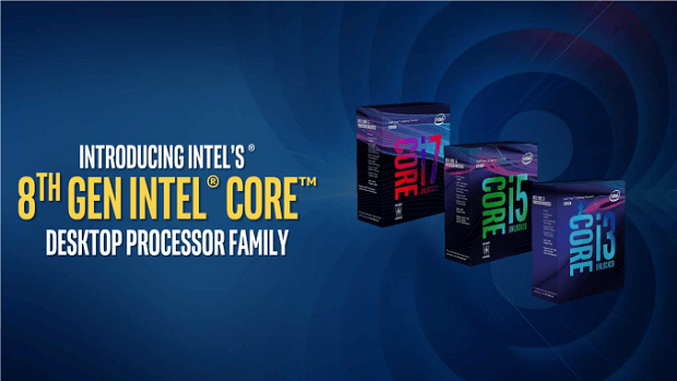 Intel Coffee Lake 8th Generation CPUs