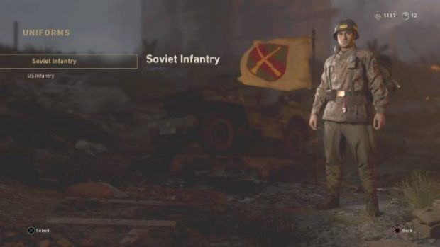 Call of Duty WW2 Epic Uniforms and Weapons Unlocks
