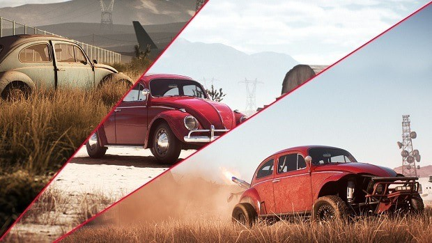 Need For Speed Payback Vw Beetle Derelict Parts Locations Guide
