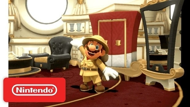 Super Mario Odyssey Wooded Kingdom Power Moon Locations Guide