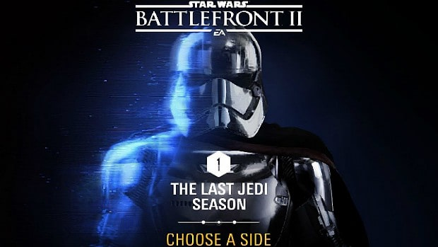 """Star Wars Battlefront 2: You Have To Choose Your Side For """"The Last Jedi Season"""" DLC"""