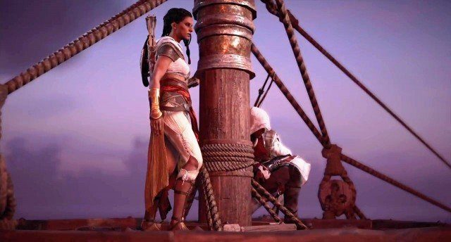 Assassin S Creed Origins Aya Blade Of The Goddess Walkthrough