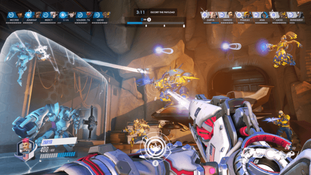 Blizzard made a Blizzard-themed theme park for the newest 'Overwatch' map