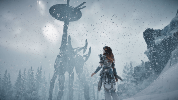 Horizon: Zero Dawn Frozen Wilds Guide to Repairing Tallneck