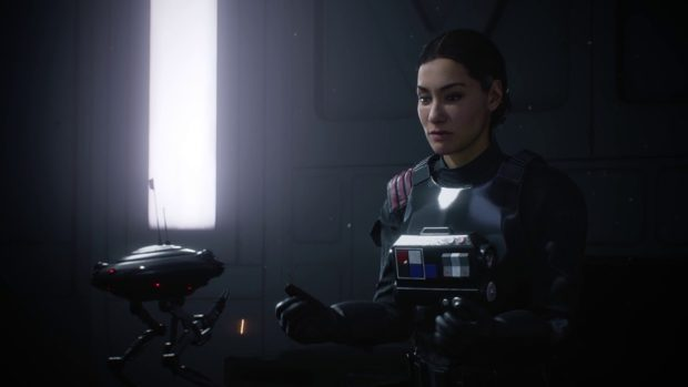 Star Wars: Battlefront 2 The Cleaner Walkthrough – Rescue Iden Verso, Escape Through The Airlock