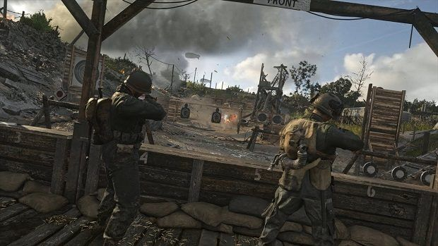 Call of Duty WW2 Headquarters Easter Eggs Guide