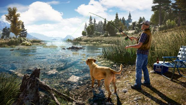 Far Cry 5 PS4 Pro Render Mode