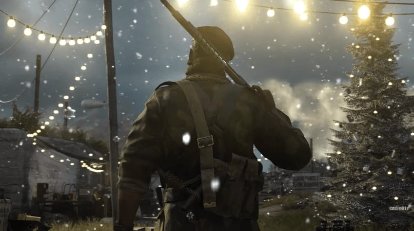 Get Something Warm for the Call of Duty WW2 Winter Siege Seasonal Event