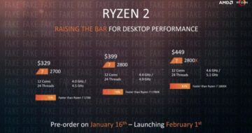AMD Ryzen 2 Pinnacle Ridge