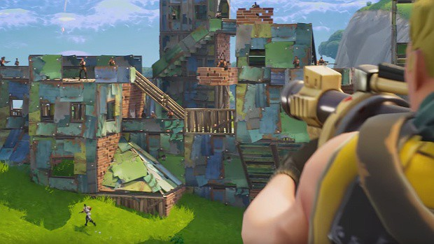 Fortnite Battle Royale Gets A New 50v50 Mode As A Limited Time Event