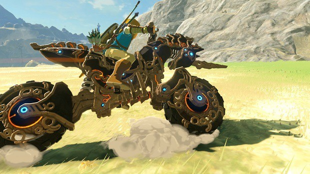 Master Cycle Zero in Zelda: Breath of the Wild
