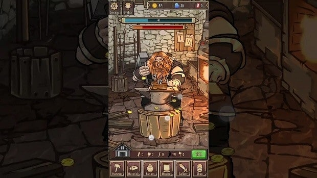 Medieval Clicker Tips and Cheats Guide – Hammer Upgrades, Material Upgrades, How to Play, Tips and Strategies