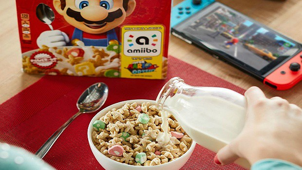 Super Mario Cereal Is About To Hit The Market, Its Box Acts As An Amiibo